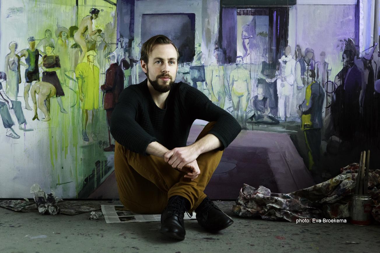 &#8220;Casper Verborg is in mijn ogen een uitgesproken romantisch schilder. <br/> Een echte 'schilder-schilder'.&#8221; <br/> Nanda Janssen