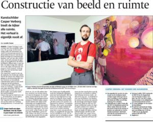 article about the exhibition at Galerie De Glorie | De Gelderlander