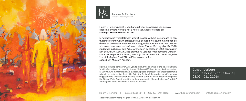 Casper Verborg @Hoorn & Reniers