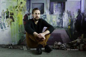 Casper Verborg in his studio.