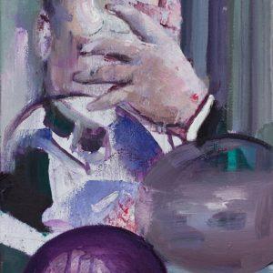 Casper Verborg | untitled | oil on canvas | 50 x 35 cm | 2015