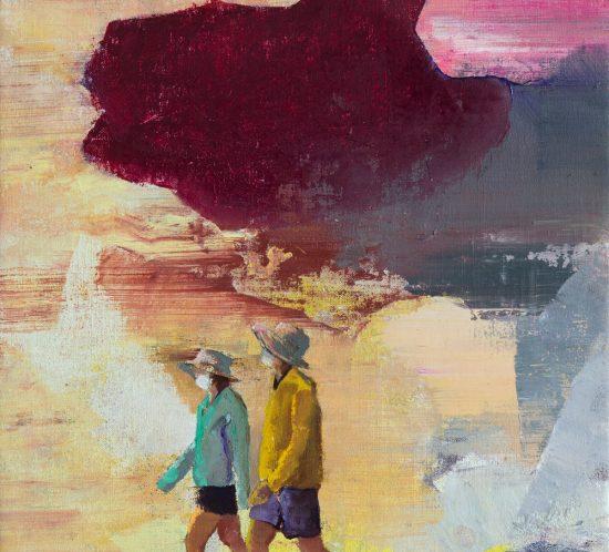 Casper Verborg | Future Echo | oil paint on canvas | 40 x 30 cm | 2020